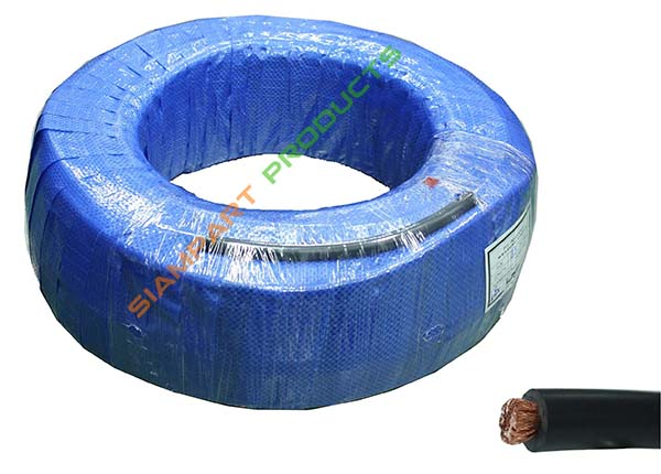 WELDING CABLE BLACK PVC COVER