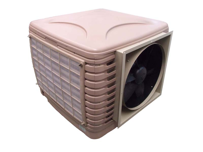 KS2P-18B10-AO : Evaporative air cool (Airflow 18,000 m3/hr) Side Discharge