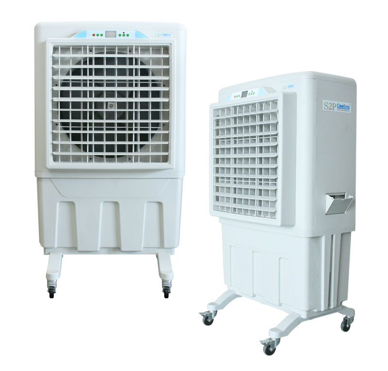KS2P-06MB-BO : Evaporative air cool mobile type (Airflow 6,000 m3/hr)