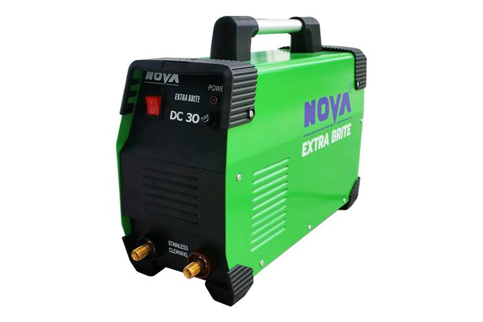Nova extra brite :เครื่องล้างรอยเชื่อมสแตนเลส