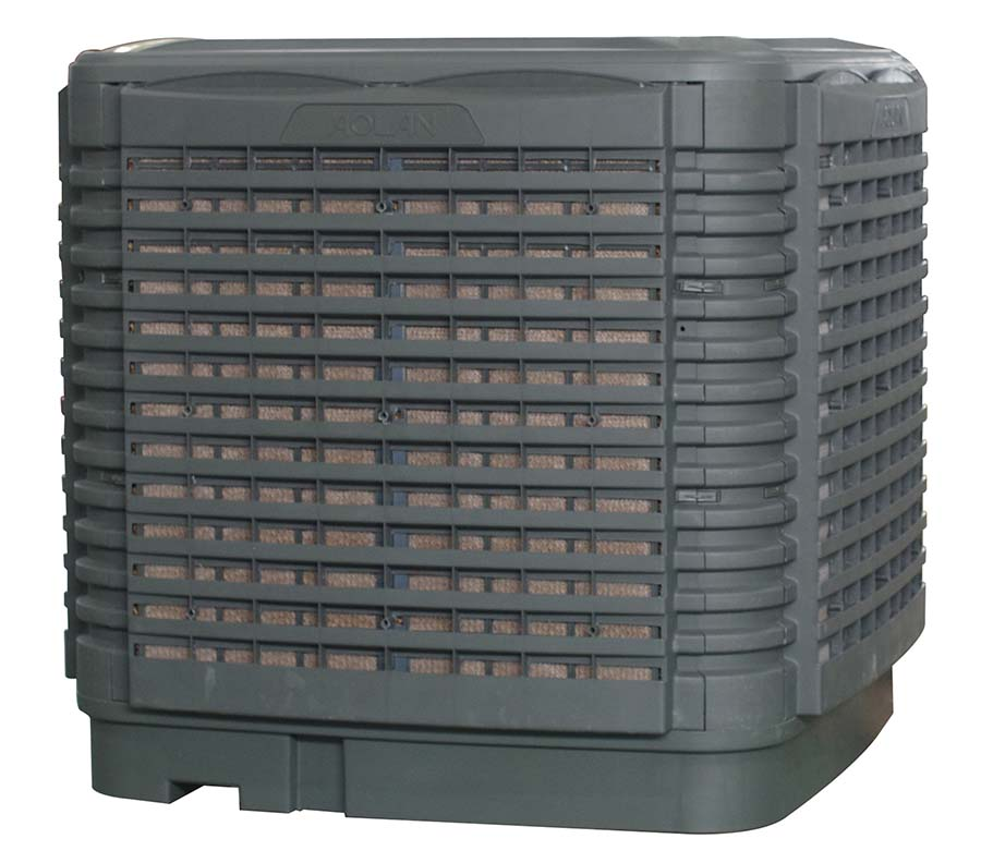 KS2P-30A32-AO / KSNC-30A32-AO: Evaporative air cool (Airflow 30,000 m3/hr) Down Discharge
